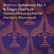 herbert  Blomstedt,  gewa , Cd brahms symphony 1   tragic overture