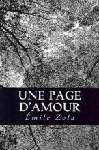 Zola, Emile Une Page D`amour