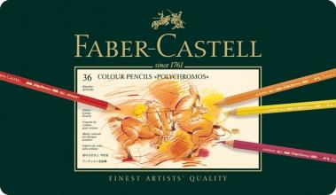 kleurpotlood Faber-Castell Polychromos etui à 36 stuks