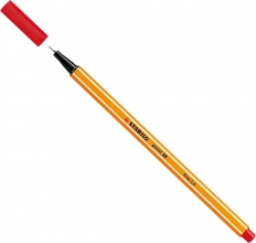 , Fineliner STABILO point 88/40 rood