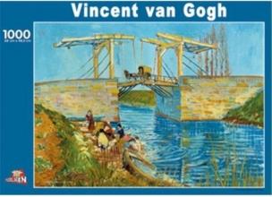 Puz-088 , Puzzel brug te aries - vincent van gogh - 1000 stuks