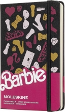 , Moleskine Limited Edition Notebook Barbie Pocket Plain Accessoires