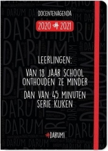, Lerarenagenda 2020-2021 darum a5