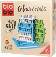 Blo-640262 , Bioblo - colour combo friend ship - 40 blocks