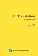 Nida, Eugene A.,   Jin, Di ON TRANSLATION
