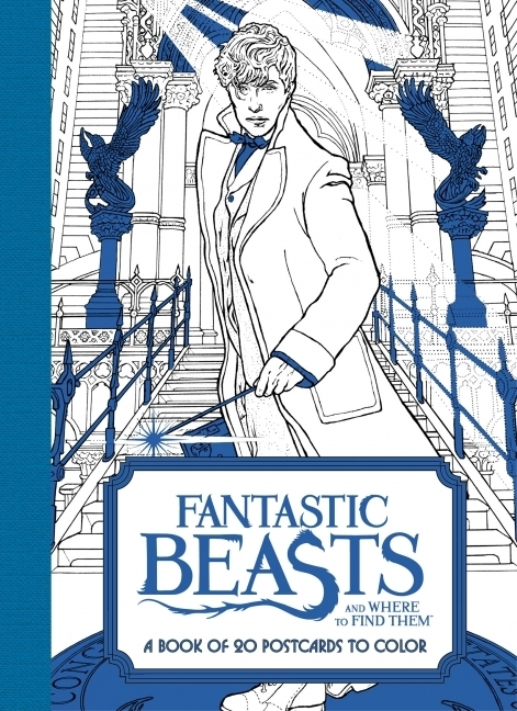 HarperCollins Publishers,Fantastic Beasts and Where to Find Them: A Book of 20 Postcards to Color