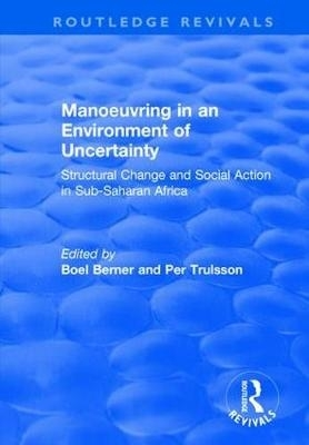 Boel Berner,   Per Trulsson,Manoeuvring in an Environment of Uncertainty