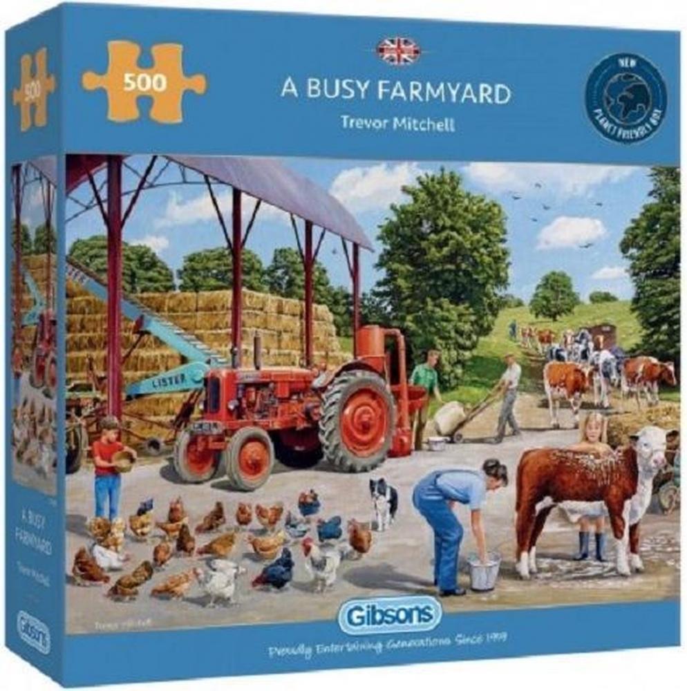 Gib-g3136,Puzzel gibsons a busy farmyard