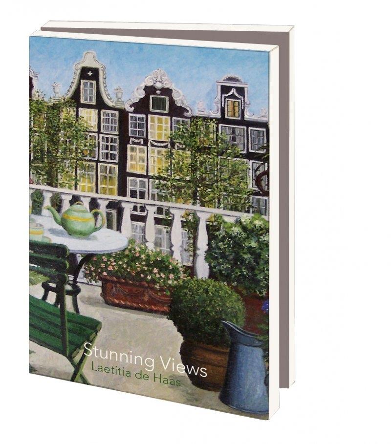 Mcw240,Notecards 10 stuks 8x14 stunning views leatitia de haas