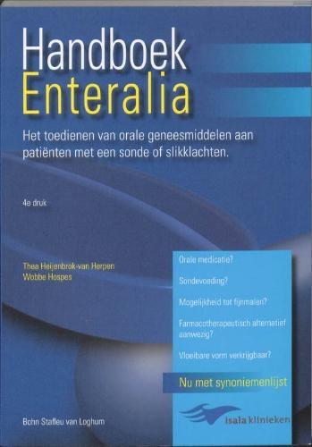 T. Heijenbrok-van Herpen, W. Hospes,Handboek enteralia
