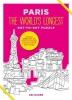 , Paris the World`s Longest Dot-to-dot Puzzle
