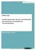Lange, Nadine, Soziale Netzwerke. Theorie und Methodik der modernen soziologischen Netzwerkanalyse.