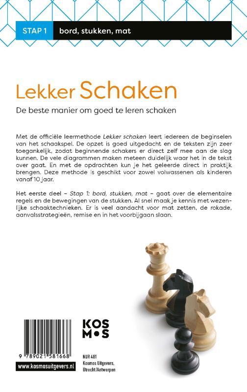 Rob van Brunia, Cor van Wijgerden,Lekker schaken stap 1