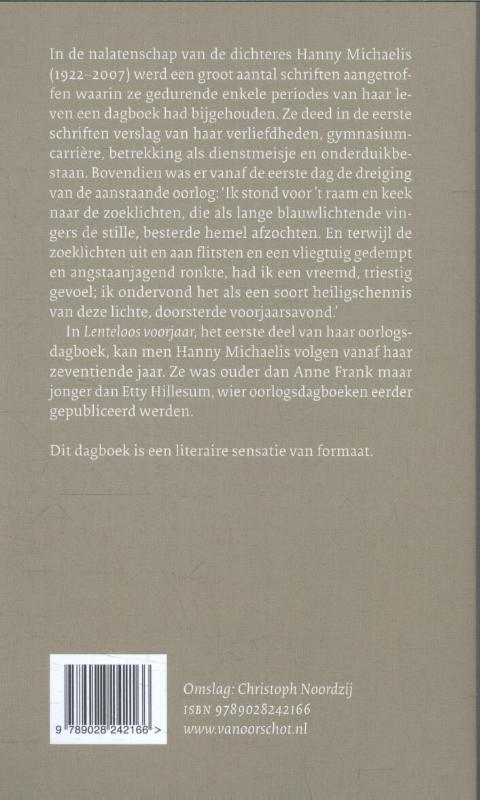 Hanny Michaelis,Lenteloos voorjaar