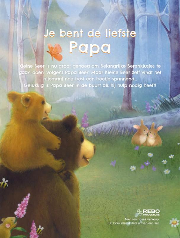 ,Je bent de liefste papa - boek & knuffelbeer