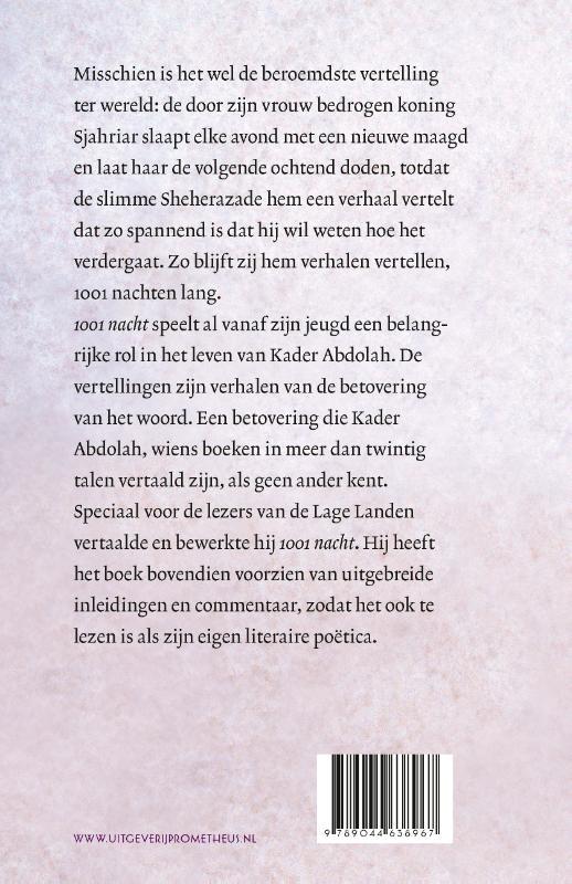 Kader Abdolah,1001 nacht