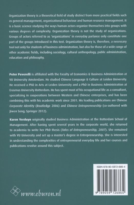 Peter Peverelli, Karen Verduyn,Understanding the basic dynamics of organizing