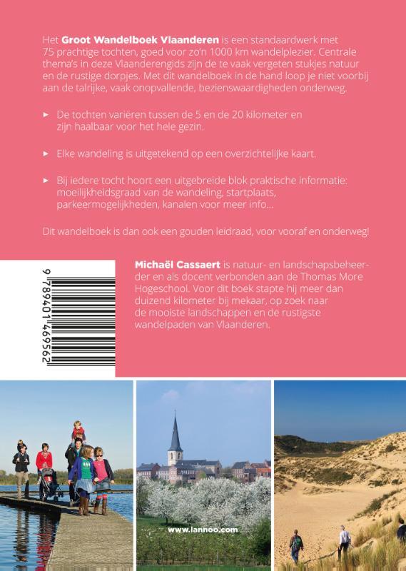Michaël Cassaert,Groot Wandelboek Vlaanderen