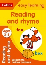 Collins Easy Learning Reading and Rhyme Ages 3-5: New Edition