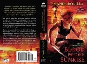 Bonilla, Amanda Blood Before Sunrise