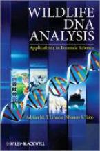 Adrian Linacre,   Shanan Tobe Wildlife DNA Analysis