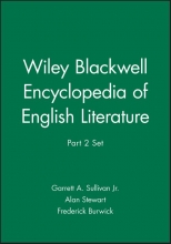 Jr., Sullivan, Garrett A. Wiley Blackwell Encyclopedia of English Literature, Part 2 Set