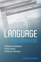 Markus Dickinson,   Chris Brew,   Detmar Meurers Language and Computers