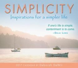 DeWit, Deborah Simplicity 2017 Calendar