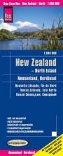 , Reise Know-How Landkarte Neuseeland, Nordinsel 1:550.000