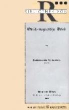 Reichenbach, Karl von Odisch-magnetische Briefe