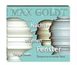 Goldt, Max Für Nächte am offenen Fenster 2. 2 CDs