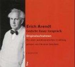 Arendt, Erich Erich Arendt - Gedicht. Essay. Gespräch. 2 CDs