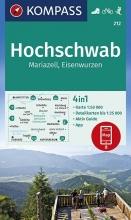 , Hochschwab, Mariazell, Eisenwurzen 1:50 000