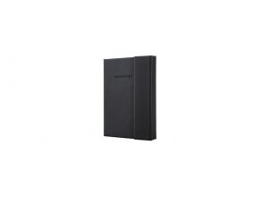 notitieboek Sigel Conceptum Pure hardcover met              magneetsluiting A6 zwart