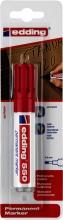 , Viltstift edding 550 rond rood 3-4mm