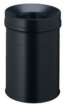 , Papierbak met vlamdover Durable 3325-01 15liter zwart