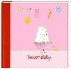 Eintragalbum - Unser Baby (rosa)