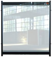 , Bureauscherm Nobo Modulair doorzichtig PVC 750x820mm