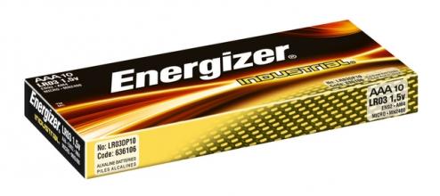 , Batterij Industrial AAA alkaline doos à 10 stuks