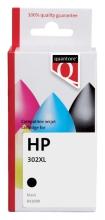 , Inktcartridge Quantore HP F6U68AE 302XL zwart