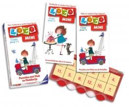 Pakket Mini loco: Basisdoos + Pluk, Floddertje en andere Fiep-figuren 1+ 2