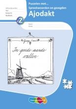 Eva den Boogert, Jessica  Copier Ajodakt Taal 5ex Groep 5-6 Puzzelen met spreekwoorden en gezegden Werkboek