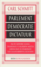 Carl  Schmitt Parlement, democratie, dictatuur