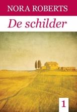 Nora  Roberts De schilder - grote letter uitgave