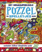 Lisa  Regan Het megasupercoole puzzel- en spelletjesboek