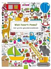 Lotje Wat hoort Poes? Het grote geluidenzoekboek