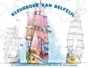 Kleurboek van Delfzijl