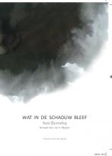 Yves  Bonnefoy Wat in de schaduw bleef