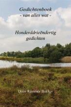 Remmer  Bakker Gedichtenboek