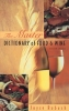 Rubash, Joyce,The Master Dictionary of Food and Wine